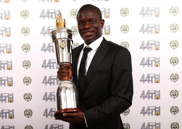 N'Golo Kante oo Loo Magacaabay Xidiga Sanadka ee Horyaalka Premier League-ga