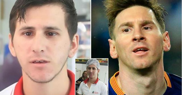 Sawirro-Wiil 21 Jir ah oo Ka Taajirey u Ekaanshaha Lionel Messi