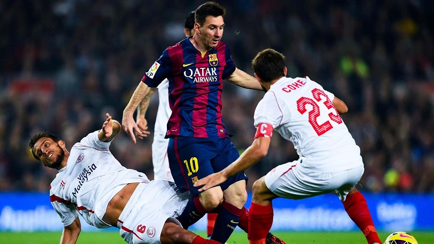 Barcelona oo Garaacday Kooxda Sevilla Kulan Katirsan Horyaalka Spain (Daawo)