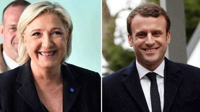 Doorashada Faransiiska: Waa Le Pen FkF Macron
