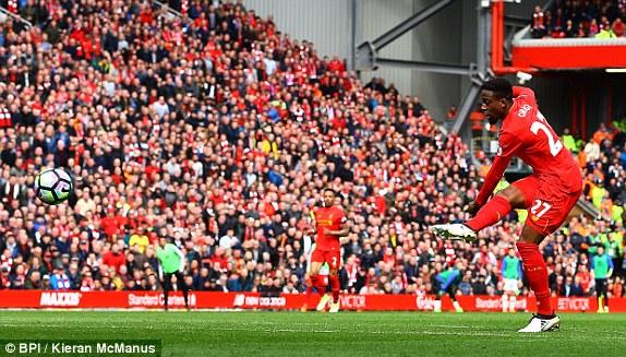 Daawo-Liverpool oo Guul Ka Gaadhey Kulankii Merseyside Derby.