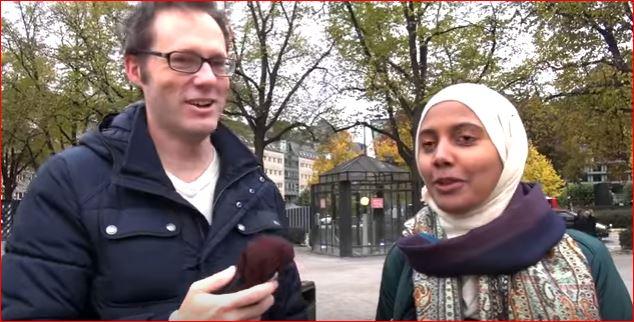 Tartan Luuqadeed Dhexmaray Gabar Soomaali ah iyo Weriye Swedish ah (Daawo)