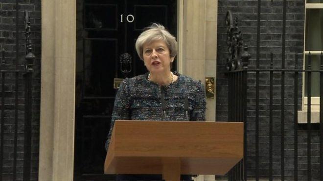 """RW Theresa May, """"Doorashadu uma Hakanayso Falalka Argagixisada"""""""