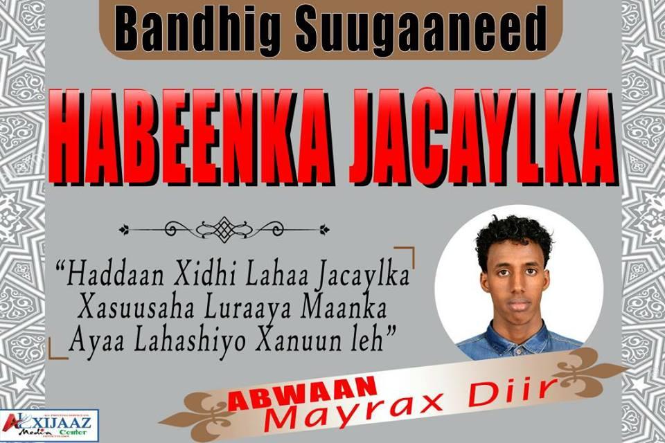 Bandhig Suugaaneedka Habeenka Jacaylka ee Magaalada Qadho (dhegayso)