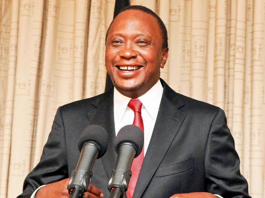 Uhurru Kenyatta oo Mar Kale Loo Doortay Madaxweynaha Kenya