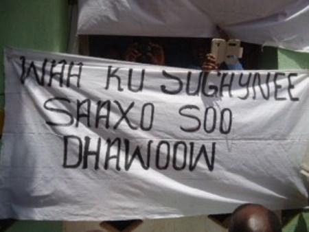 Maamulka Degmada Saaxo oo Beeniyey Kulan Galmudug iyo Nabadeyn Beelo Deegaanka (dhegayso)