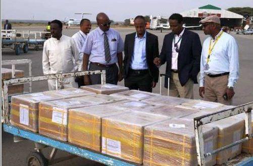 Somaliland oo Hargeysa ka Dajisay Qalabki Codbixinta