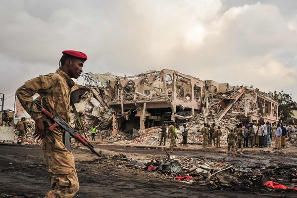 Sanbalooshe (NYT Opinion): Somalia Doesn't Need Tears. Help Us Fight Terrorism.