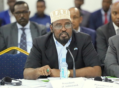 Madaxweynaha Jubbaland oo Fariin u diray shacabka Somaliyeed