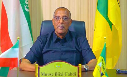 Madaxweynaha Somaliland oo sheegay in Dowladda Somaaliya Cunaqabatayn kuso rogtay Somaliland (dhegayso)