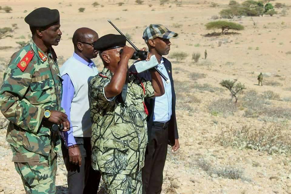 Madaxweyne ku Xigeenka Somaliland Saylici oo Maanta Tagay Tukaraq  (Sawiro)