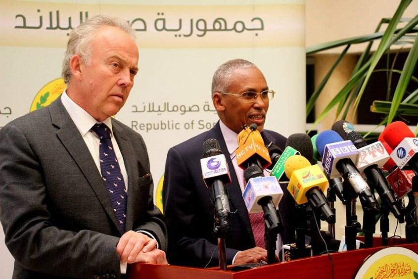 Madaxweynaha Mamaulka Somaliland oo kulan la qaatay Danjire Michael Keating (Sawro)