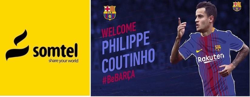 Xubintii Ciyaaraha: Philippe Countinho oo ka xaadirey Camp Nou (dhegayso)