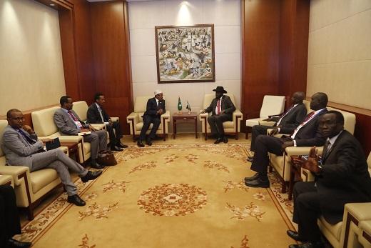 Wasiirka Arrimaha Dibadda DFS oo Daljir uga Warramay Shirkii Hoggaamiyeyaasha Afrika ee Addis Ababa (dhegayso)