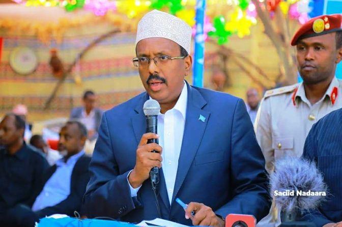 Hooyo Somaliyeed oo isku dayaaysa sidii Madaxweyne Farmaajo ula kulmi lahyd (dhegayso)