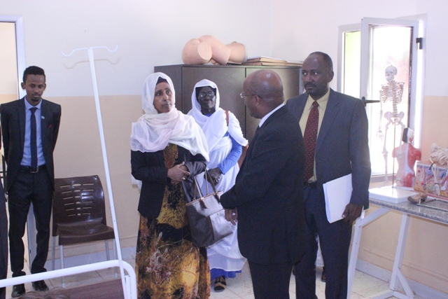 Wasiirka Caafimaadka Dowladda Federaalka oo Heshiis Suudan kula gashay Dhigeeda Sudaan