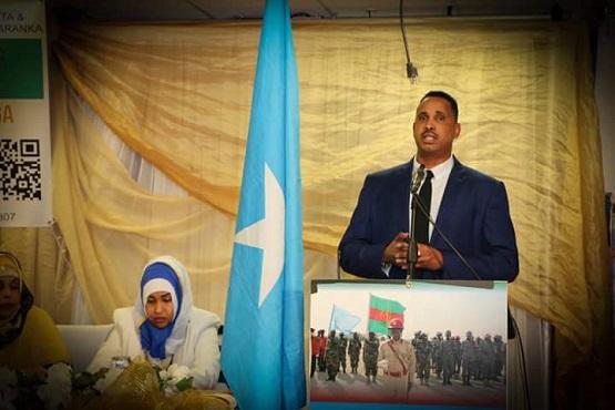 Jaaliyadda Somaliyeed ee  Minnesota oo qabtay Munaasabad lagu tageerayo Ciidamadda Xogga Dalka (dhegayso)