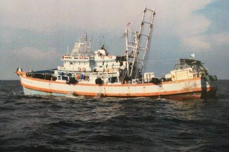 Puntland-registered 'Thai' fishing boat caught with double the permissible catch