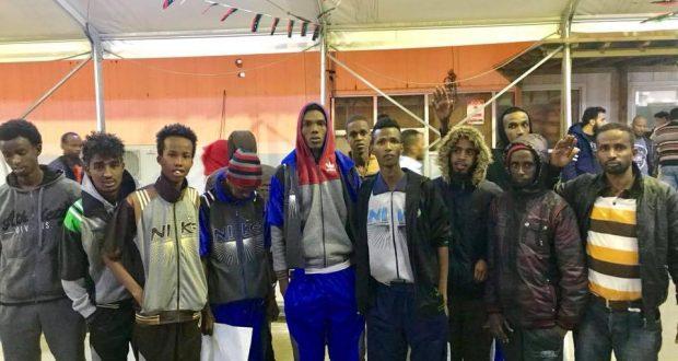 Dhalinyaro Somaliyed oo Xabsiyada Liibya laga sii dayaay