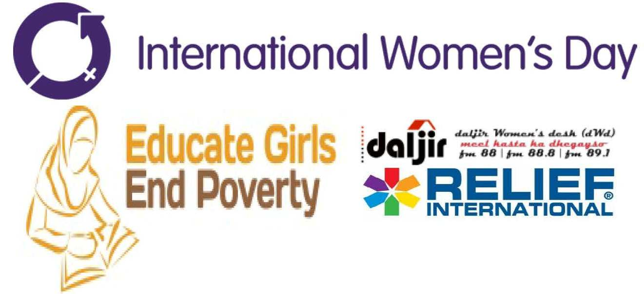 Xus Maalinta Haweenka Adduunka oo gabadhaada waxbar | Celebrate this International Women's Day and educate your daughter