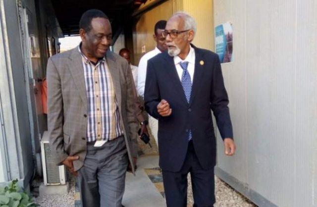 Guddoomiyaha baarlamaanka Jawaari oo la kulmay madax katirsan AMISOM