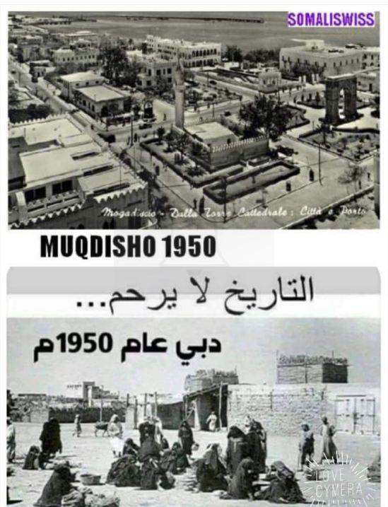 Sannadkii 1950 Muqdishu iyo Dubai iyo damiirka xanuunsanaya ee Soomaalida