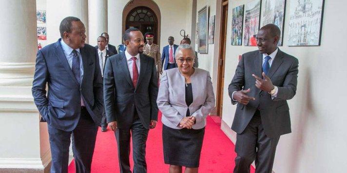 Joint communique on Uhuru-Abiy talks