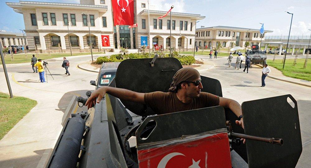 Saldhiga Turkiga ee Muqdisho oo la duqeeyey