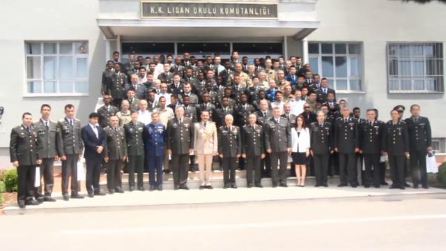 Saraakiil iyo xigeeno tababar loogu soo xiray Turkiga (sawiro)