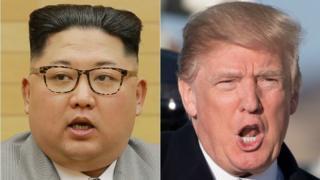Madaxweyne Trump oo Singapore kula Kulmaya Kim Jong-un.