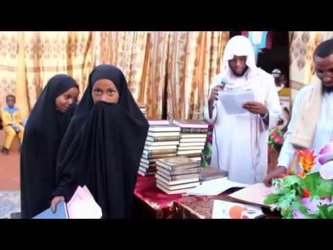 Buuhoodle: Arday Tartan Quraanka Kariimka ku guulaystay oo la abaal mariyay (dhegayso)