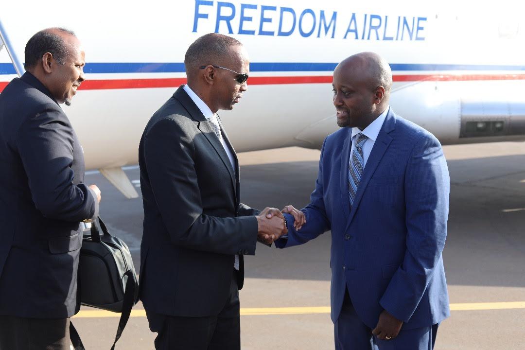 Ra'iisul Wasaare Khayre oo Booqasho Hal Maalin Ah Ay Uga Bilaabatay Magaalada Kigali ee Caasimadda Dalka Rwanda