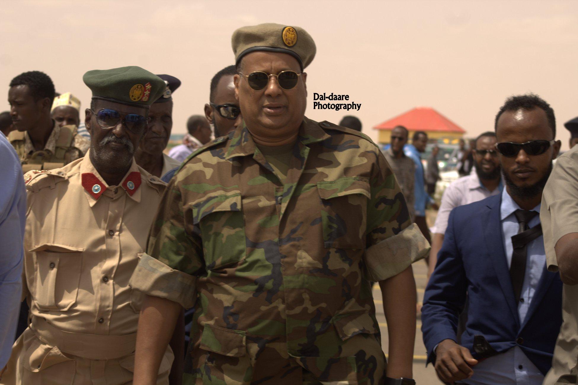 Musharax Madaxweyne Puntland Col Jabriil oo Garoowe gaaray (dhegayso)