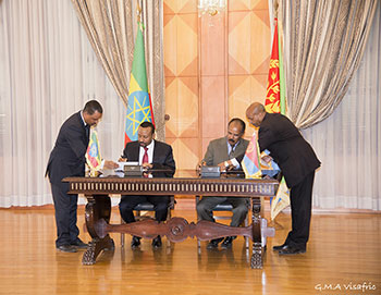 Joint Declaration of Peace and Friendship between Eritrea and Ethiopia