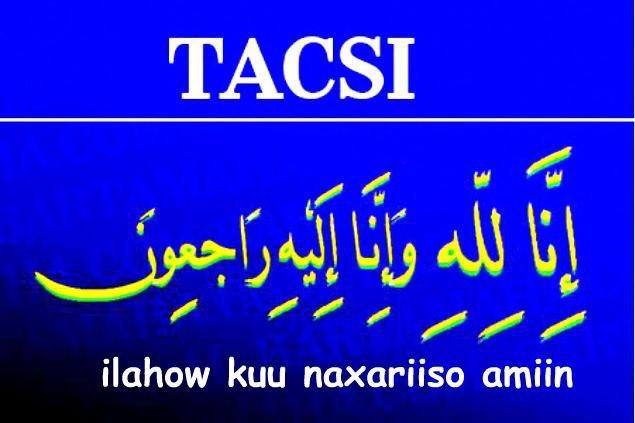 Madaxda iyo Shaqaalaha Xoogga Korontada Eeneye oo tacsi diraya