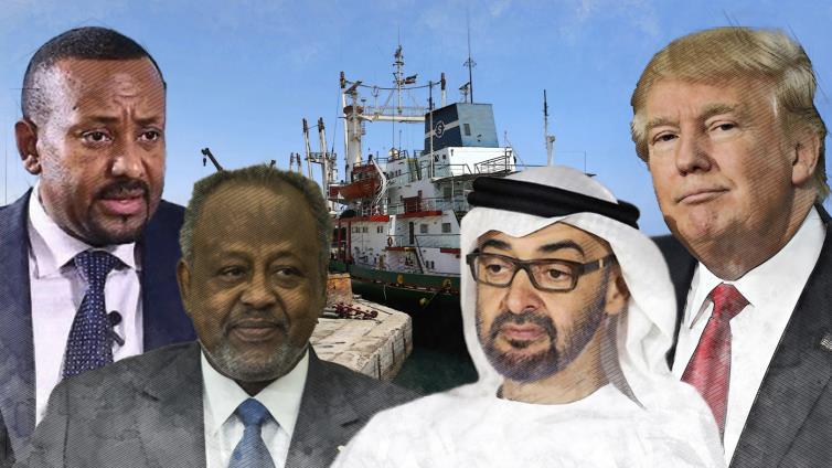 How did the UAE and Washington plan to kill Djibouti?