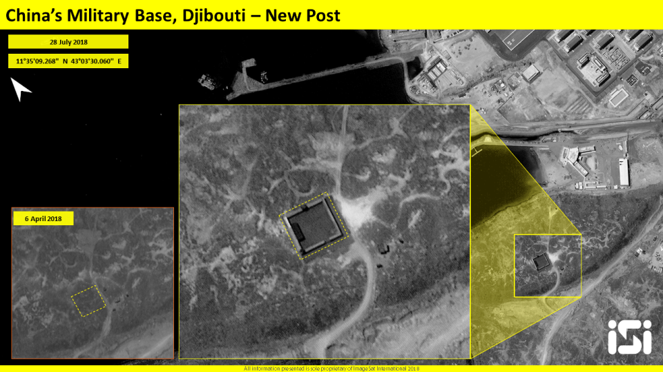 CHINA'S MILITARY BASE: CHINESE CONSTRUCTION AT THE PORT OF DJIBOUTI