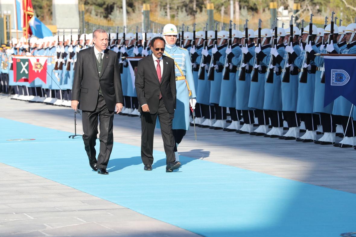 Madaxweyne Farmaajo oo Lagu Casuumay Shirweynaha Xisbiga Madaxweyne Erdogan ee AK