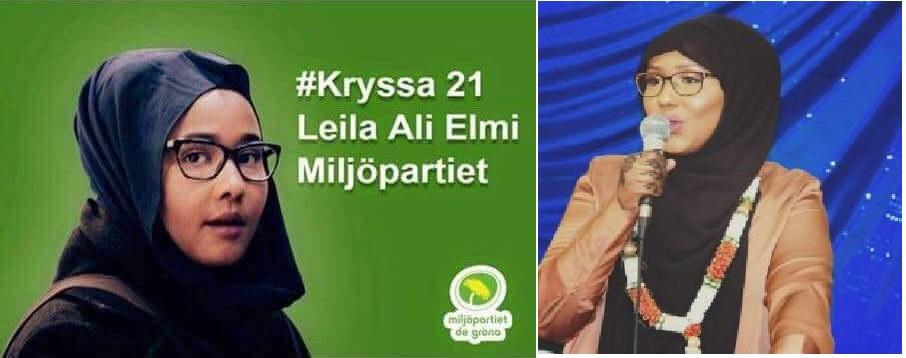 Leyla Ali Elmi: Gabadhii ugu horraysay oo Muslin ah (Soomaali) oo Sweden Xildhibaan ka noqotay (dhegayso)