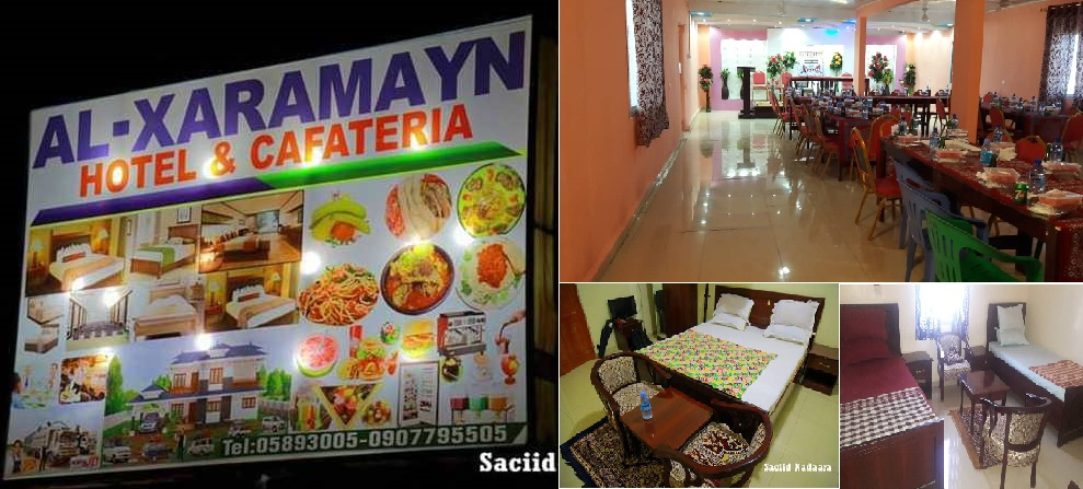 Ogeysiis Ogeysiis Ogeysiis: Al-Xaramayn HOTEL & CAFATERIA (Buurtinle) waa furanyahay (dhegayso)