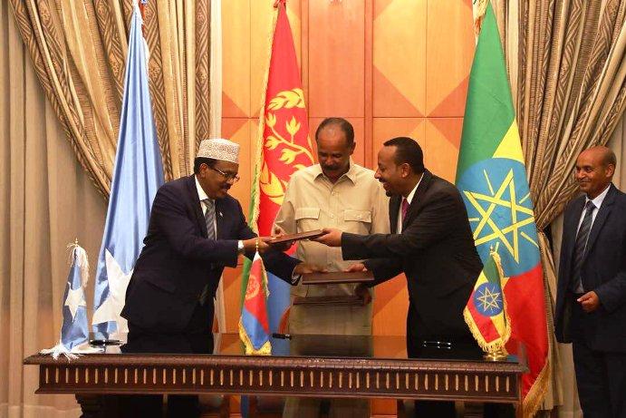 Isbaddalka Geeska Afrika: Eriteriya oo u gacanhaadisay Djibouti iyo Madaxweyne Geelle oo weli miiska ka maqan