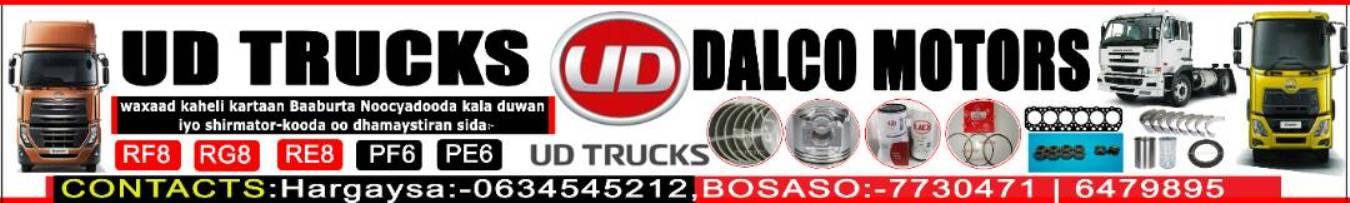 UD Trucks | DALCO Motors | Waxaad ka heli kartaa baabuurta iyo shirmatoorkooda (dhegayso)
