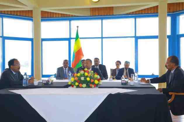 War murtiyeed laga soo saaray shirkii Bahar Dar ee Madaxda Soomaaliya, Itoobiya iyo Eritrea