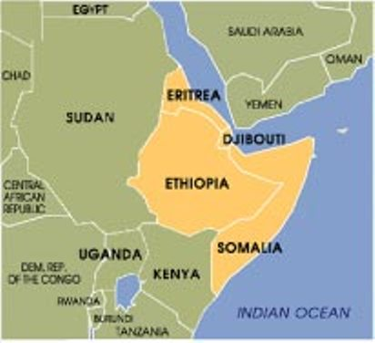 Ethiopia and her history of the Horn: Which Way to the Sea, Please?