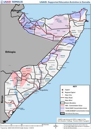 United States Supports Somali Girls' Transformation through Education