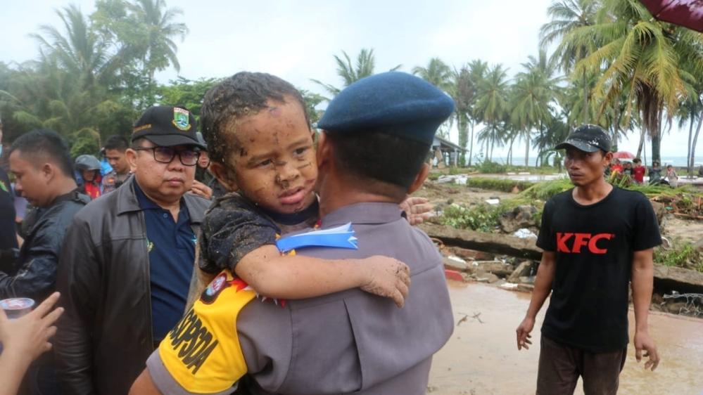Dadka ku geeriyooday Foolkaanada iyo Tsunami ee Induniisiya oo sii korortay