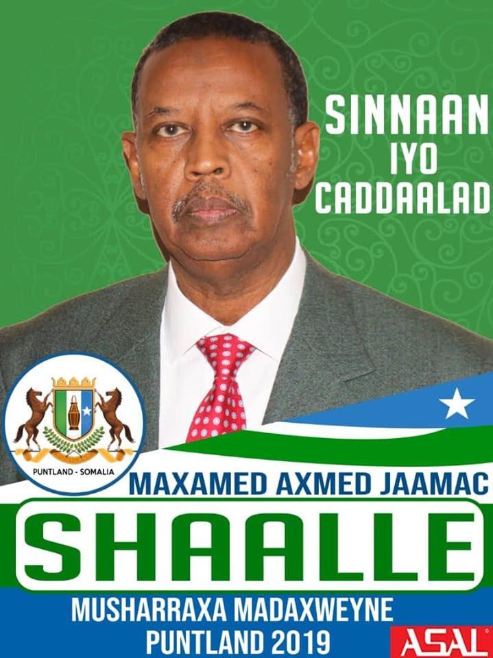 Musharax Gen.Shaale oo u Hambalyo u diray Xildhibaanada Cusub
