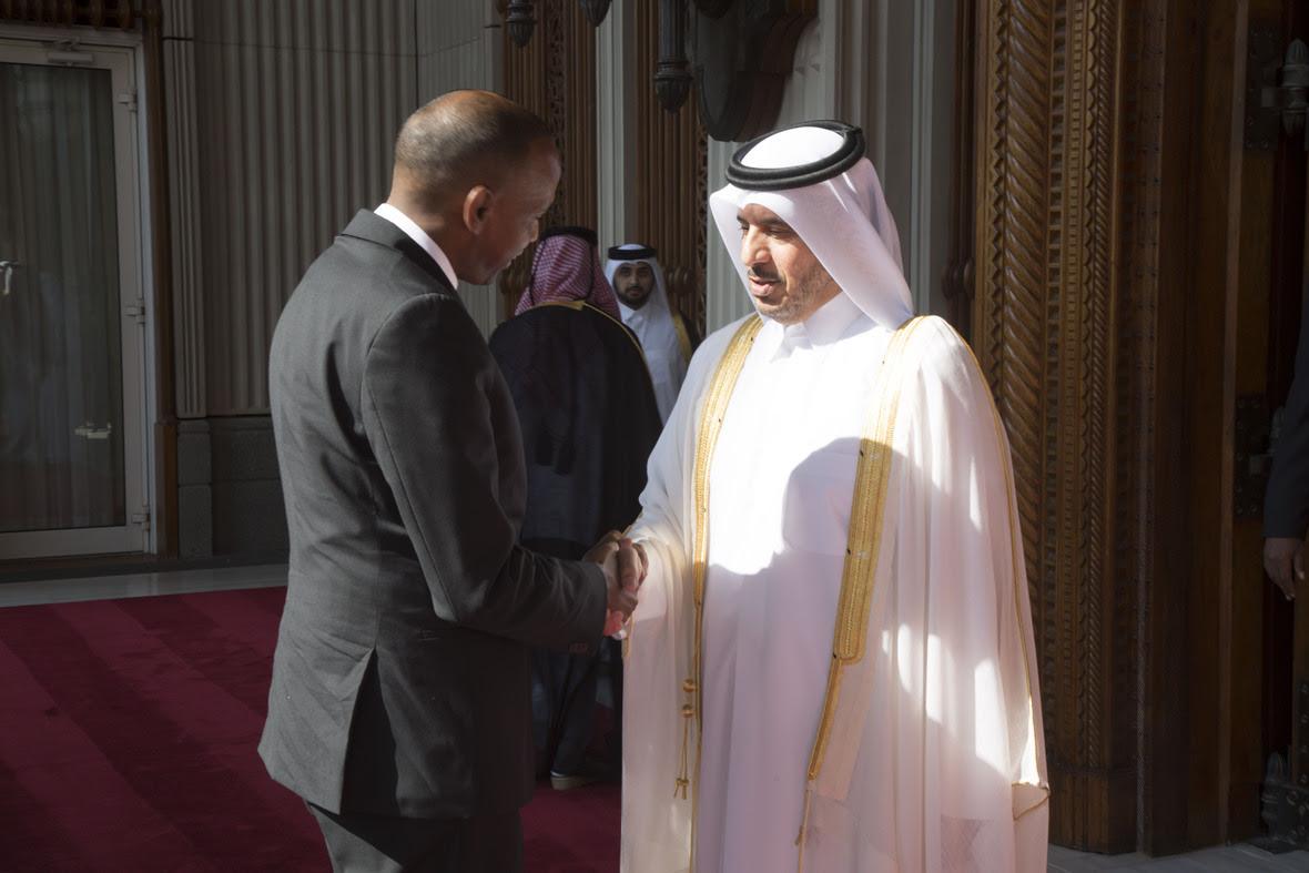 Ra'iisul Wasaare Khayre Oo La Kulmay Dhiggiisa Dawladda Qatar