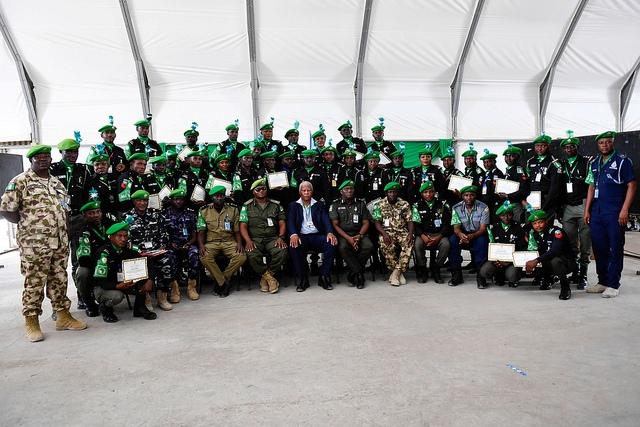 Ciidamadda Dalka Nigeriae ee kajoga Somaaliya oo la abaalmariyeey