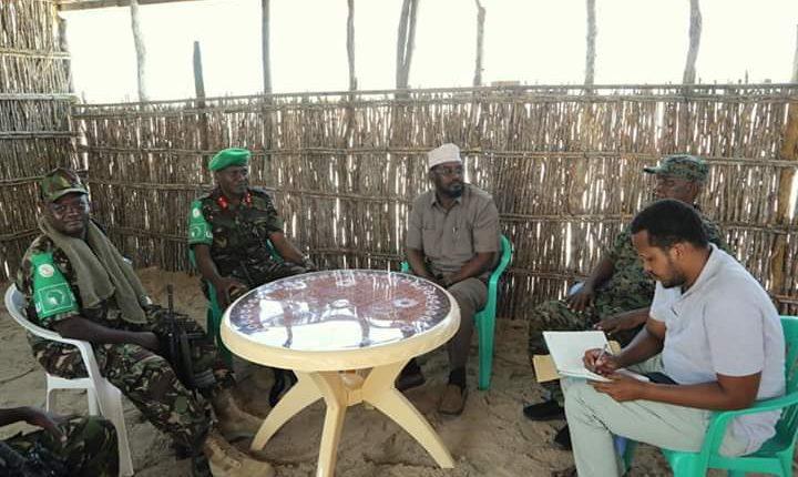 Axmed Madoobe oo kulan la qaatay Saraakil Ciidamada AMISOM ka tirsan